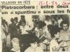 Corse Matin du 15 août 1983