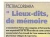 La Corse votre hebdo du 2 août 2002