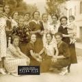 1939 -  Le groupe des jeunes filles en fleur