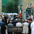 1999 - Inauguration du nouveau monument aux morts