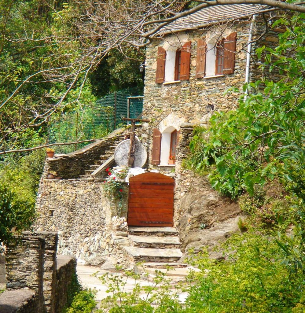 Ancien moulin de Pietronacce. Avril 2006. Photo Jean-Paul Llavador