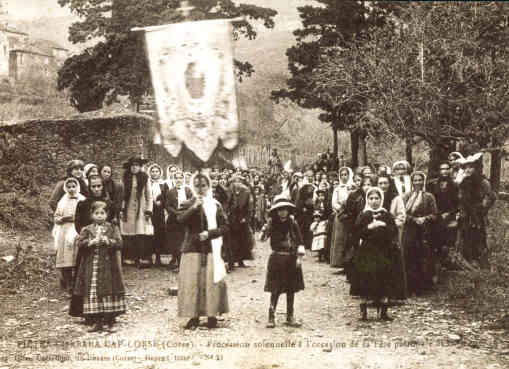 Procession de la Saint-Clément, le 23 novembre 1913