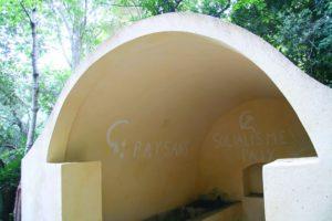 Inscriptions sur la fontaine de Lapedina. Juillet 2012. Photo D.A.