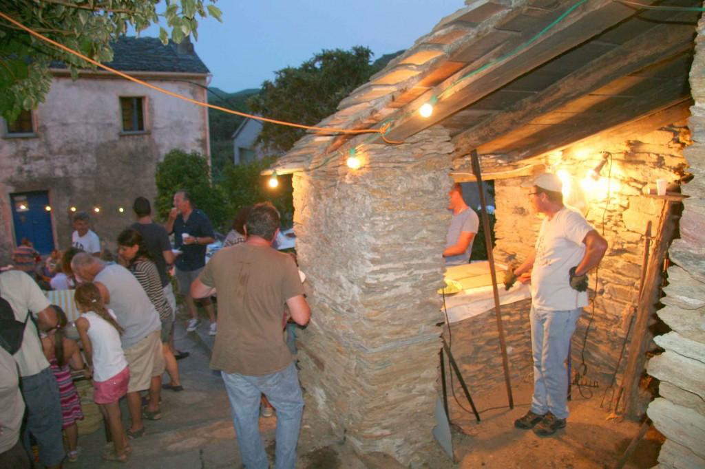 La fête des fours. Août 2012. Photo D.A.