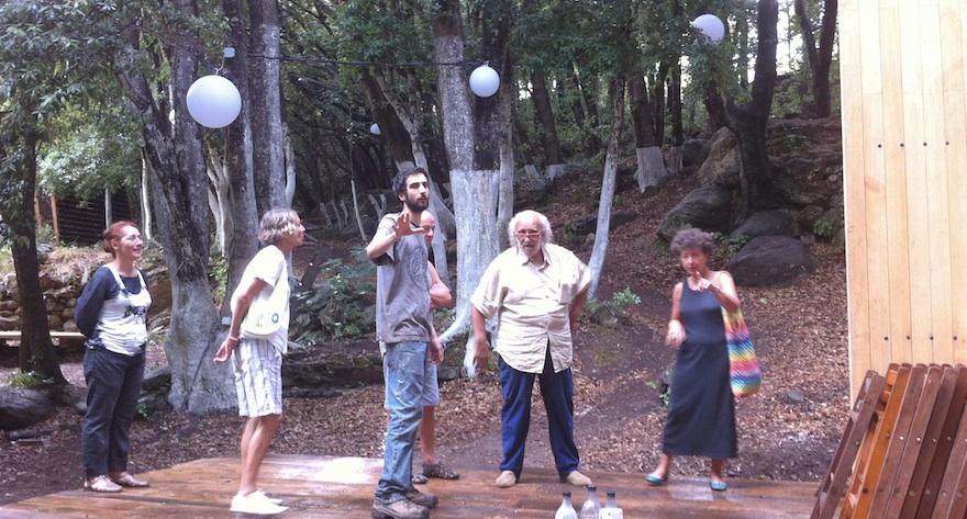Paul Casalonga et Laurence Bloch au Mulinu vivu