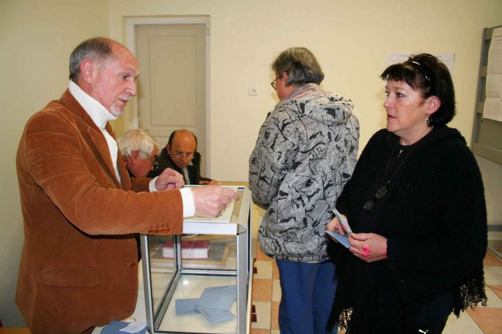 Elections municipales. Mars 2008. Photo D.A.