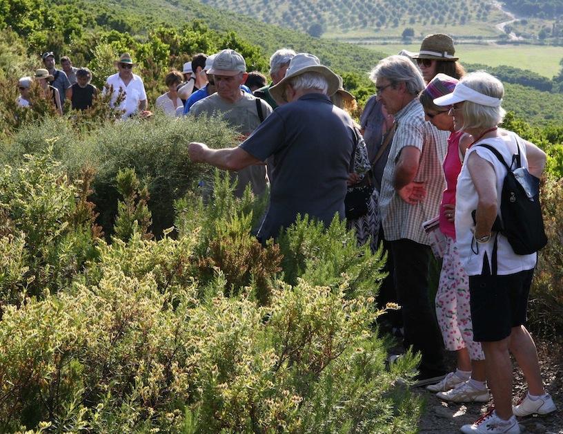 Inauguration sentier botanique